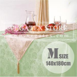 テーブルクロス 撥水 布 VEGATEX ハーベストホーム セージ<M>140×180cm|vegatex-store