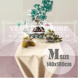 テーブルクロス 撥水 布 VEGATEX プリズム ローズライラック<M>140×180cm|vegatex-store