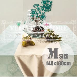 テーブルクロス 撥水 布 VEGATEX プリズム シルバーバーチ<M>140×180cm|vegatex-store