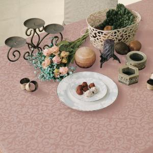 テーブルクロス 撥水 布 VEGATEX マルベリー チョコレイト<M>140×180cm|vegatex-store