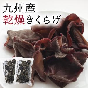 あさイチ 九州産 きくらげ 200g(100g×2パック) 乾燥野菜(干し野菜)干し野菜 薩摩の恵 国産|vegeko