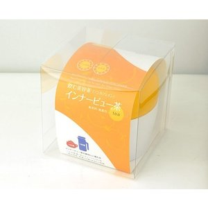 【送料無料】【無農薬】 熊本県産あさぎり町の花咲たもぎ茸と 杜仲茶のブレンドティー 「インナービュー茶」30gスタンド袋タイプ|vegeko