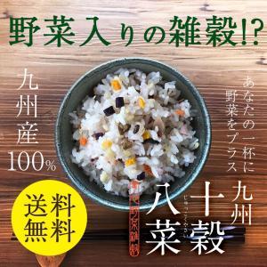 雑穀 雑穀米 野菜入 【九州十穀八菜(じゅっこくやさい)】 ...