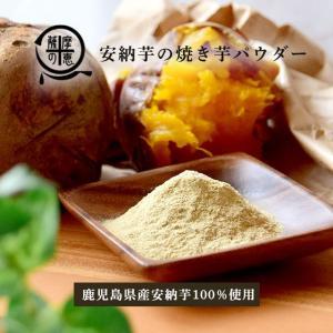 野菜パウダー 安納芋の焼き芋 鹿児島県産安納芋使用 40g入り スープや団子などに|vegeko
