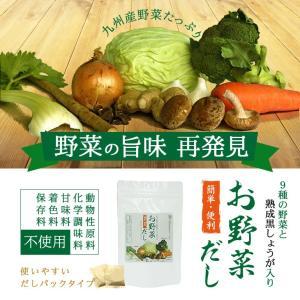 だし 出汁 お野菜だし 野菜だし 70g(7g×10袋) 送料無料|vegeko|03