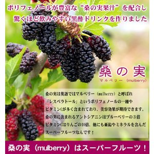黒酢 桑の実黒酢 720ml|vegeko|03