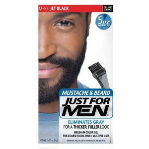 髭の白髪染め  白毛染め  JUST FOR MEN ひげ染...