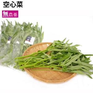 空芯菜(無農薬栽培)120g×5袋 生産者:茨城 ユニオンファーム