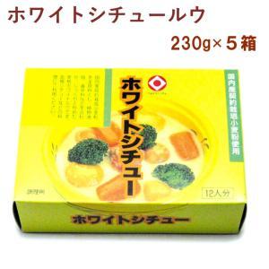 日食 ホワイトシチュールゥ 6皿分×2パック 4箱 送料込