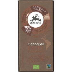 日仏貿易 アルチェネロ 有機ダークチョコレート 100g 4個 送料無料
