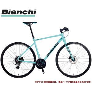 クロスバイク 2021 BIANCHI ビアンキ ROMA 3 DISC ローマ3ディスクRC CK16/BLACK 16段変速 SHIMANO 2X8SP 700C 油圧ディスクブレーキ|vehicle
