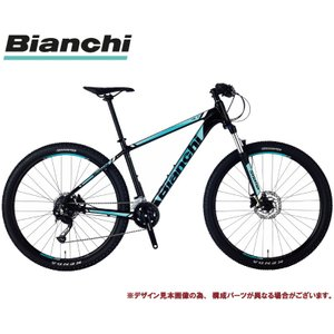 マウンテンバイク 2021 BIANCHI ビアンキ MAGMA 7.2 マグマ7.2 BLACK(6B) 18段変速 SHIMANO 2×9SP ホイール径27.5インチ 油圧ディスクブレーキ|vehicle
