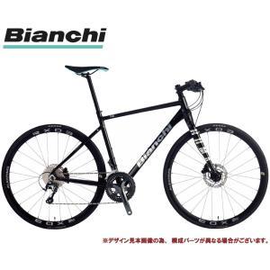 クロスバイク 2021 BIANCHI ビアンキ ROMA 1 DISC ローマ1ディスクRX BLACK/METAL DECAL 20段変速 SHIMANO TIAGRA 700C 油圧ディスクブレーキ|vehicle
