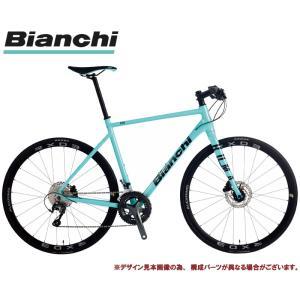 クロスバイク 2021 BIANCHI ビアンキ ROMA 1 DISC ローマ1ディスクRC CK16/BLACK 20段変速 SHIMANO TIAGRA 700C 油圧ディスクブレーキ|vehicle