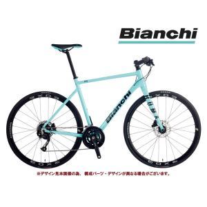 クロスバイク 2021 BIANCHI ビアンキ ROMA 2 DISC ローマ2ディスクRC CK16/BLACK SHIMANO 2X9SP 700C 油圧ディスクブレーキ|vehicle