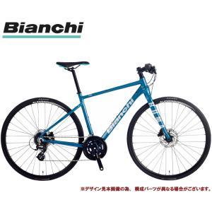 クロスバイク 2021 BIANCHI ビアンキ ROMA 3 DISC ローマ3ディスクRF BLUE FOREST/SILVER DECAL 16段変速 SHIMANO 2X8SP 700C 油圧ディスクブレーキ|vehicle
