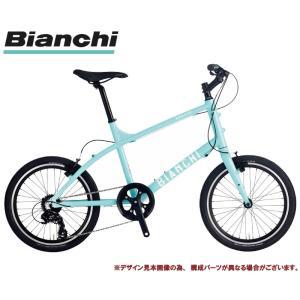 """ミニベロ・小径車 2020 BIANCHI ビアンキ LECCO レッコ CK16 7段変速 20""""..."""