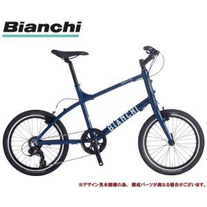 ミニベロ・小径車 2021 BIANCHI ビアンキ LECCO レッコNL NAVY 7段変速 ホイール径20インチ シティーサイクル|vehicle