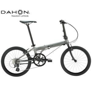 (選べる特典付き!)折り畳み 2021 DAHON ダホン SPEED FALCO スピードファルコ マットガンメタル 8段変速 ホイール径20インチ|vehicle