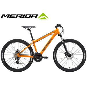 マウンテンバイク 2021 MERIDA メリダ MATTS 6.10-MD マッツ6.10MD シルクライトサンド(ブラック)【EX03】 24段変速 26