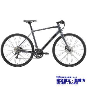 (選べる特典付)クロスバイク 2021 MERIDA メリダ GRAN SPEED 300-D グランスピード300D アンスラサイト(ブラック)【ES85】 20段変速 SHIMANO TIAGRA 700C|vehicle