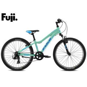 ジュニア・キッズ用 マウンテンバイク 2021 FUJI フジ DYNAMITE 24 ダイナマイト 24 ミント 7段変速 ホイール径24インチ vehicle