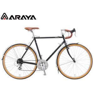 (選べる特典付き!)ロードバイク 2021 ARAYA アラヤ FED ARAYA Federal アラヤ・フェデラル ダークモスグリーン 24段変速 650B クロモリ|vehicle