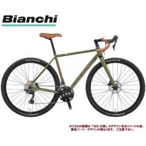 グラベルロードバイク 2021 BIANCHI ビアンキ ORSO SHIMANO SORA オルソ シマノ ソラ MILITARY GREEN/RED(3Z)  2×9SP DISC 700C|vehicle