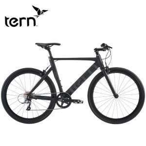 (選べる特典付!)クロスバイク 2021 TERN ターン RIP リップ マットブラック 8段変速 SHIMANO CLARIS|vehicle
