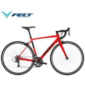 (選べる特典付)ロードバイク 2020 FELT フェルト FR60 レッド SHIMANO CLA...