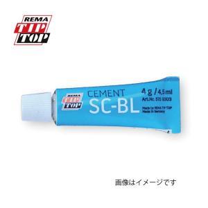 (ネコポス便対応商品)TIPTOP チップトップ タイヤパッチ用セメント(加硫剤) スペシャルセメントブルー(4003115159300)の画像
