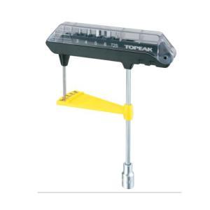 (TOPEAK)トピーク  TOOL ツール ComboTorq Wrench & Bit Set コンボトルクレンチ&ビットセット(TOL23500)(4712511831832)|vehicle