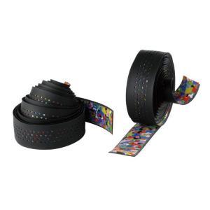 【cinelli】 チネリ BAR TAPE バーテープ Caleido Ribbon カレイドリボン ブラック 607024-000001(20012492)