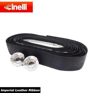 【送料無料】【cinelli】 チネリ BAR TAPE バーテープ Imperial Leather Ribbon インペリアルレザーリボン ブラック 607026-000001(20013448)