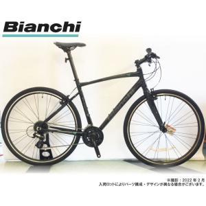 クロスバイク 2020 BIANCHI ビアンキ C・SPORT 1 Cスポーツ1 BLACK/ G...