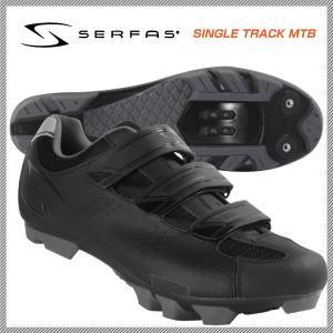 (SERFAS)サーファス SHOES MTBシューズ SINGLE TRACK MTB シングルトラックMTB ブラック 41(160269)42(160270)43(160271)44(160272)|vehicle