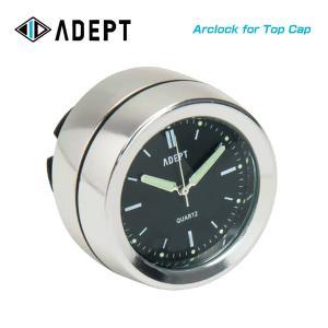 (ADEPT)アデプト クロック Arclock for Top Cap アークロック (トップキャップ用) シルバー(4935012331964)|vehicle