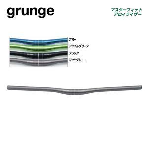 (grunge)グランジ HANDLEBAR フラットハンドル マスターフィットアロイライザーФ31.8mm|vehicle