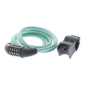(即納可)(BIANCHI) ビアンキ LOCK ロック Resettable Combination Cable Lock リセッタブルコンビネーションケーブルロック チェレステ(4573392620188) vehicle
