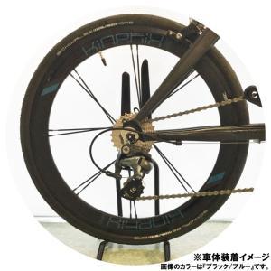 """TERN ターン Kinetix Pro Deep Dish Rear Wheel キネティクスプロディープディッシュ リアホイールのみ 20""""(451) クリンチャー ※QRなし Surge Pro純正 vehicle"""
