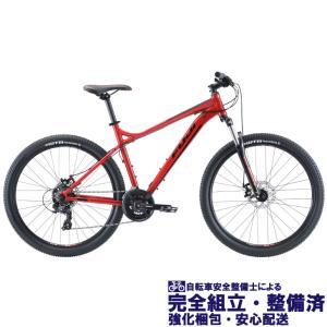 即納有(選べる特典付き!)マウンテンバイク 2020 FUJI フジ NEVADA 27.5 1.9 ネバダ 27.5 1.9 クリムゾン (21段変速)(27.5)(ディスクブレーキ)|vehicle