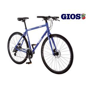 (選べる特典付)クロスバイク 2020 GIOS ジオス MISTRAL DISC HYDRAULIC SHIMANO WHEEL ミストラル ディスク ハイドロリック シマノホイール仕様 ジオスブルー|vehicle