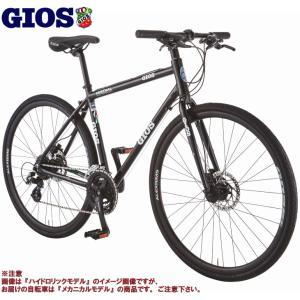 クロスバイク 2020 GIOS ジオス MISTRAL DISC MECHANICAL ミストラル ディスク メカニカル ブラック 24段変速 ワイヤー式ディスクブレーキ仕様|vehicle