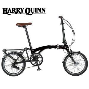 (折り畳んだ状態で発送) 折り畳み HARRY QUINN PORTABLE EーBIKE ハリークイン ポータブル Eバイク ブラック 16インチ 電動アシスト自転車|vehicle