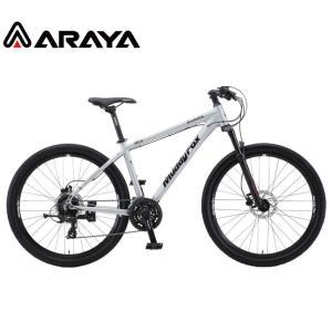 マウンテンバイク 2021 ARAYA アラヤ MFD Muddy Fox Dirt マディ フォックス ダート マットサテン 24段変速 27.5' 油圧ディスクブレーキ|vehicle