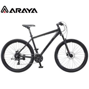 マウンテンバイク 2021 ARAYA アラヤ MFD Muddy Fox Dirt マディ フォックス ダート マットブラック 24段変速 27.5' 油圧ディスクブレーキ|vehicle