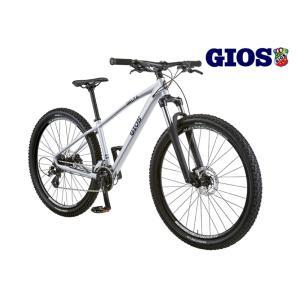 即納有(選べる特典付!) マウンテンバイク 2021 GIOS ジオス DELTA デルタ シルバーメタリック 16段変速 27.5 油圧式ディスク|vehicle