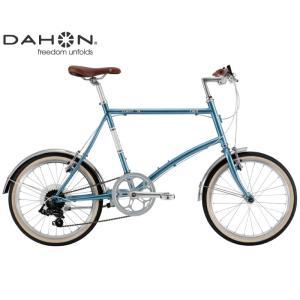 ミニベロ・小径車 2021 DAHON ダホン CALM カーム スティールブルー 7段変速 ホイール径20インチ|vehicle