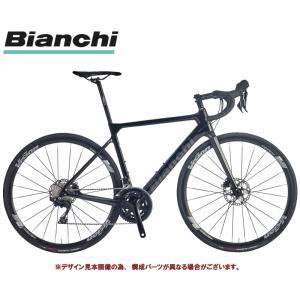 ロードバイク 2021 BIANCHI ビアンキ SPRINT DISC SHIMANO 105 スプリント ディスク シマノ 105 BLACK(SW) 2×11SP 700C CARBON|vehicle