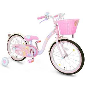 プリンセス ゆめカワ 16インチ ピンク 完成品(今なら自転車カバープレゼント)  アイデス|vehicles